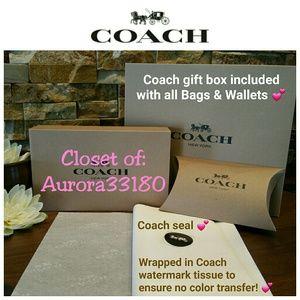 Coach Bags - *BIG SALE* NEW Coach Accordion Wallet, Platinum